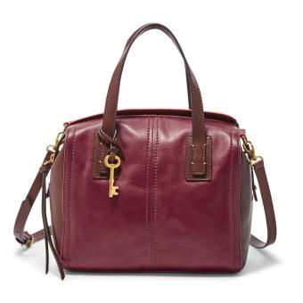 Harga Fossil Emma Crossbody Satchel - Red Multi, ZB 6909995