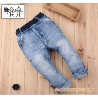 Harga Cutevina - Boys Fashion Short Jeans / Celana Pendek Anak 3-9th [BC17021]