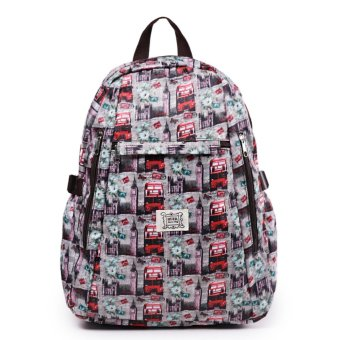Harga London Berry by HUER Yaomi Backpack Large - London Bus