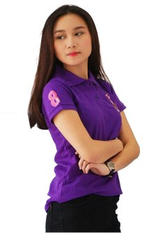 QuincyLabel Women Polo Shirt Golf - Royal Blue