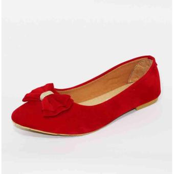 Harga Marlee Flat shoes Af-11 Red