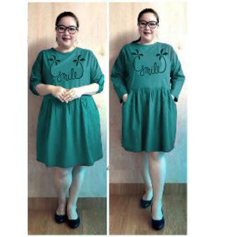 Harga Ace Fashion Dress Wanita Smile Jumbo - (Tosca)