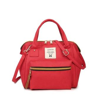 Harga Anello Japan 3 Ways Mini Hand bag & Shoulder Bag - Red