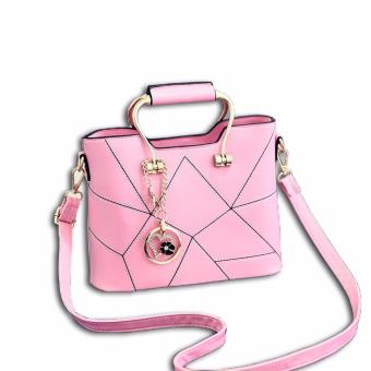 Harga Vicria Tas Branded Wanita - Korean High Quality Awesome Handbag Pink