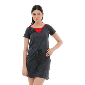 Harga Carvil Raisa-02 Dress - Hitam