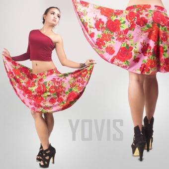 Harga Yovis Skirt Umbrella- Rose