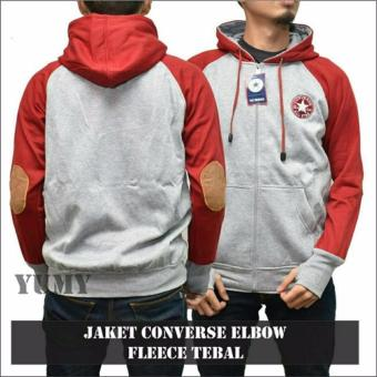 Harga Sweater Pria Hodie - Converse Comby Sweater - Fleece Tebal
