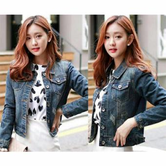 Harga AK - Jaket Maya Jeans Washed Akiko Fashion