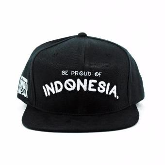 Harga Snapback Hip Hop Hat Simple Black