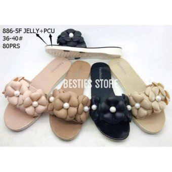 Harga Besties Jasmine Sandal Flat Fashion Wanita - Multicolor