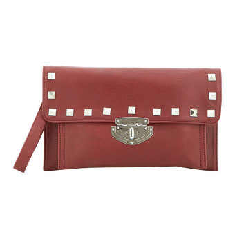 Harga Alibi Paris Afrro Bag - Red