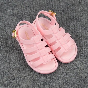 Harga New children's sandals Roman sandals Jelly shoes-pink - intl