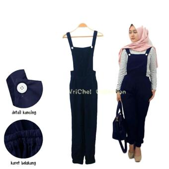 Harga Vrichel Collection Jumpsuit Ucy (Navy)