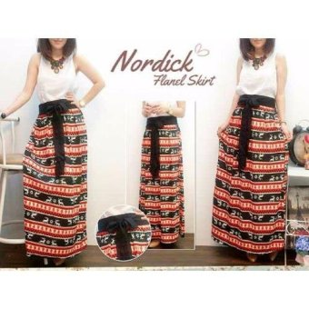 Harga Grateful Rok Nordick - Orange