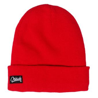 Harga ORKIDS Beanies NEFO Red