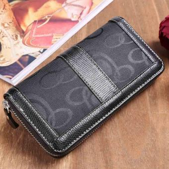 Harga Yika Women Synthetic Leather Long Wallet - intl