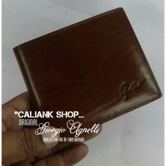 Giorgio Agnelli Dompet Kulit Asli Original Wallet Ga Uk 18 1109 Brown Models .