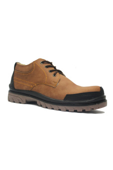 Harga Hikers Shoes Safety England Comfort Low Boots Brown
