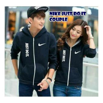 Jaket Couple Nike Just Do It Navy