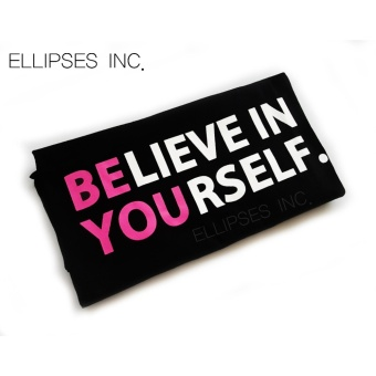 Tumblr Tee / T-Shirt / Kaos Wanita Believe in yourself b