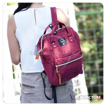 Harga Ultimate Tas Anello Medium 2in1/Backpack/Tas Jinjing/Tenteng/Ransel Import FS-90546 - Red