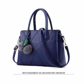 Harga Vicria Tas Branded Wanita - Korean High Quality Bag Style- BLUE