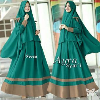 Hasanah Fashion Ayra Syar'i - Tosca