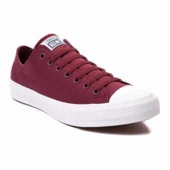 Harga Converse CT All Star II Low Burgundy