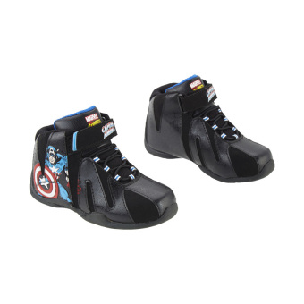 Harga Marvel The Avengers Captain America Shoes Hitam