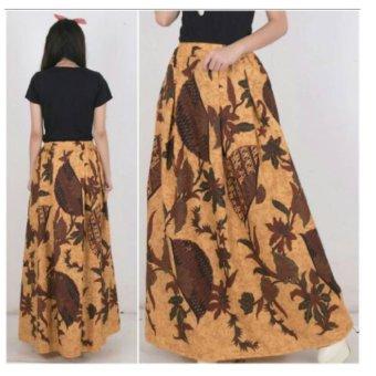 Daftar Harga 168 Collection Rok Maxi Black Button Long Skirt Hitam Desember 2017 .