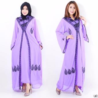 Harga AK-82 Sabinah Maxi Purple Akiko Fashion