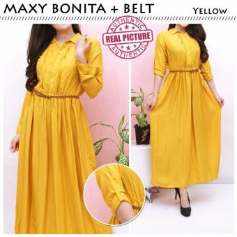 Harga Suki Dress Maxi Bonita - Yellow