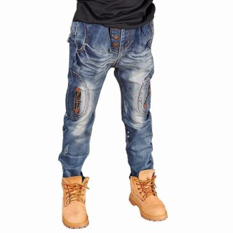 Harga Cutevina - Boys Fashion Long Jeans Denim / Celana Panjang Anak 3-11th (BC17023)
