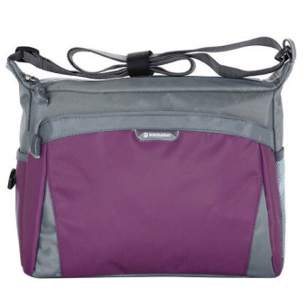Harga Colorful Sports Bags Women Leisure Travel Bag Men Shoulder Bag Handbag Purple
