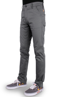 Harga OliveInch Long Chino - Abu
