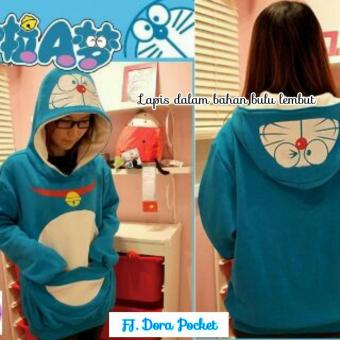 Harga Doraemon Pocket Fleece