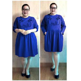 Harga Ace Fashion Dress Wanita Smile Jumbo - (Benhur)