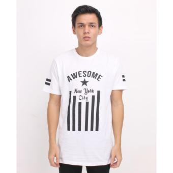 Harga HIGH5 – Kaos Pria Awesome New York City Putih White