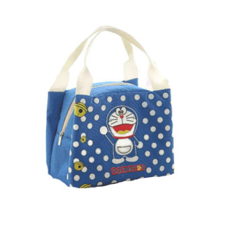Harga BELLINO Lunchbag Tote Thermal Trio Doraemon - Biru