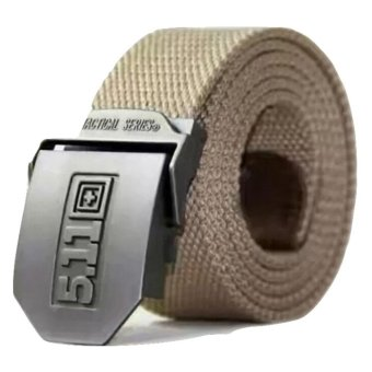 Harga Gesper Tactical Series 511 - Head Stainless Strap Nylon - Cream - GT 92007 SS