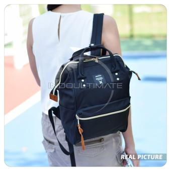 Harga Ultimate Tas Anello Medium 2in1/Backpack/Tas Jinjing/Tenteng/Ransel Import FS-90546 - Black