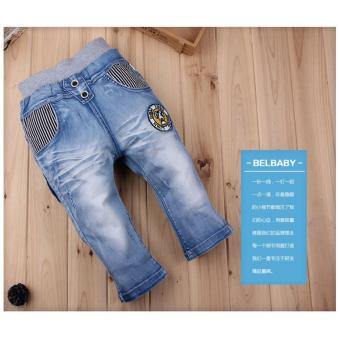 Harga Cutevina - Boys Fashion Short Jeans / Celana Pendek Anak Bordir 3-9th [BC17018]