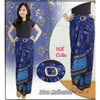 ... 4 Motif Jeans Long Skirt 03. Dimana Beli 168 Collection Rok Maxi Harmoni Batik Long Skirt Mocca Source · 168 Collection Rok Maxi Lilit Reika Batik Biru