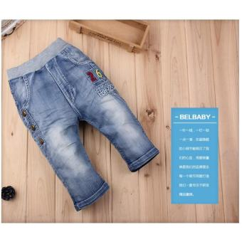 Harga Cutevina - Boys Fashion Short Jeans / Celana Pendek Anak 2-11th [BC17013]