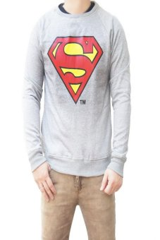 Harga QuincyLabel Super Sweater - Light Grey