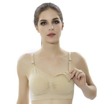 Harga Nursing Maternity Bras Underwear Breast Feeding Bra - intl