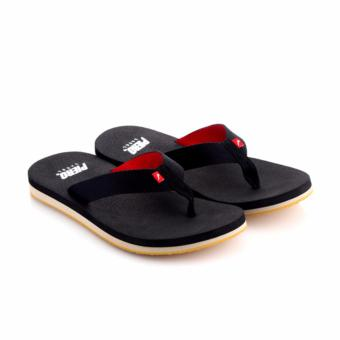 Harga Piero Pico Sandals - Black/Red