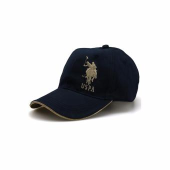 Ormano Topi Baseball Snapback Hip Hop Korean Style Polo Golf Cap - Biru
