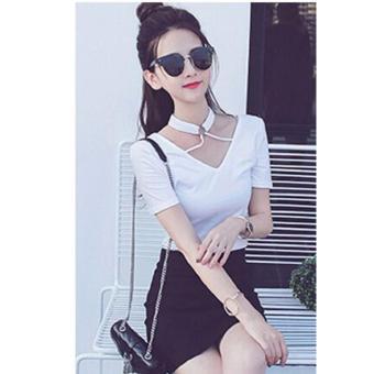 REYN SHOP Blouse Brina Top Putih | Atasan Wanita | Baju Wanita | Blouse Wanita