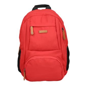 Hush Puppies Tas Titus Backpack Pria - Merah